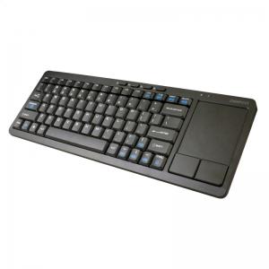 Belaidė klaviatūra OMEGA SMART TV+TOUCH PAD juoda