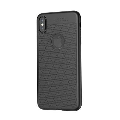 Dėklas  Hoco Admire Series  Apple iPhone XS Max juodas