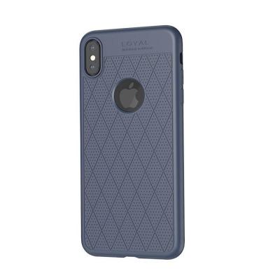 Dėklas  Hoco Admire Series  Apple iPhone X / XS mėlynas