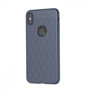 Dėklas  Hoco Admire Series  Apple iPhone XS Max mėlynas