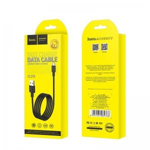 USB kabelis HOCO X29 Superior style  lightning  1m juodas