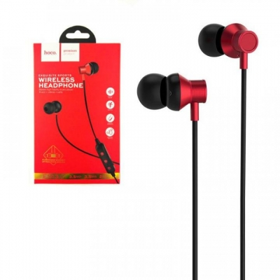 Bluetooth ausinės HOCO ES13 Plus Exquisite Sports raudonos