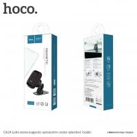 Automobilinis universalus telefono laikiklis HOCO CA24 juodas magnetinis
