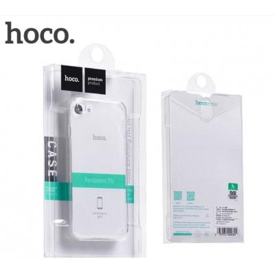 Dėklas  Hoco Light Series TPU  Apple iPhone 7 Plus / 8 Plus permatomas juodas