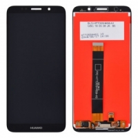 Ekranas Huawei Y5 2018 / / Y5 Prime 2018 / Honor 7S su lietimui jautriu stikliuku juodas HQ