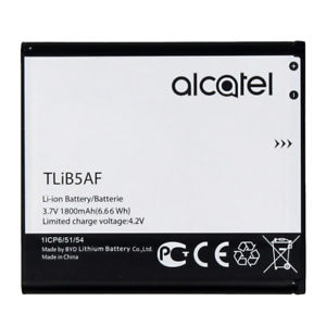 Akumuliatorius Alcatel TLiB5AF for Modem One Touch / Pop C5 / OT5036 / OT5036D / OT5036 / OT5036D / S800 / S710 1800mAh