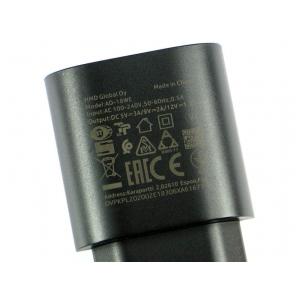 Įkroviklis originalus Nokia AD-18WE 3A juodas (used Grade A)