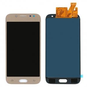 Ekranas Samsung J530F J5 (2017) su lietimui jautriu stikliuku auksinis (TFT version, adjustable brightness) HQ