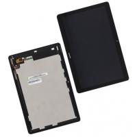 Ekranas Huawei MediaPad T3 10 su lietimui jautriu stikliuku juodas HQ