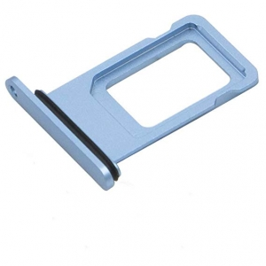 SIM kortelės laikiklis Apple iPhone XR mėlynas ORG