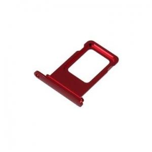 SIM kortelės laikiklis Apple iPhone XR raudonas ORG