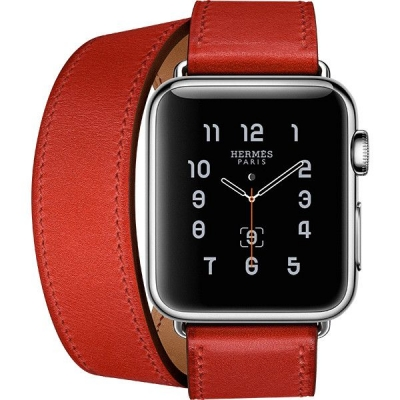 Apyrankė Cote iWatch Leather Red 38-40mm