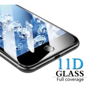 LCD apsauginis stikliukas  11D Full Glue  Apple iPhone 6 / 6S juodas be įpakavimo