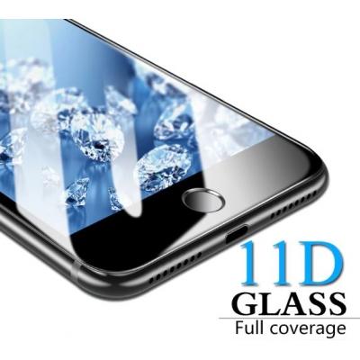 LCD apsauginis stikliukas  11D Full Glue  Apple iPhone 7 / 8 baltas be įpakavimo