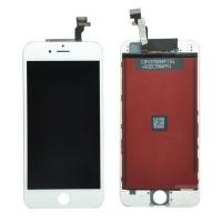Ekranas iPhone 6 su lietimui jautriu stikliuku baltas Premium