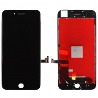 Ekranas iPhone 7 Plus su lietimui jautriu stikliuku juodas Premium