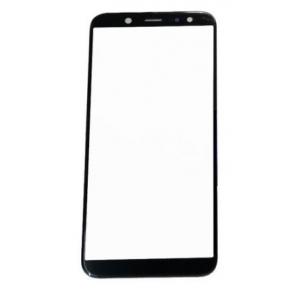 LCD stikliukas Samsung A600 A6 2018 juodas HQ