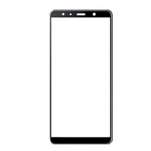 LCD stikliukas Samsung A750 A7 2018 juodas HQ