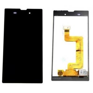 Ekranas Sony D5103 Xperia T3 su lietimui jautriu stikliuku su rėmeliu juodas originalus (used Grade C)