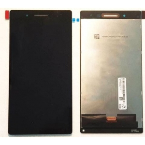 Ekranas Lenovo Tab 4 TB-7504F TV070HDM-TL9 su lietimui jautriu stikliuku juodas (ruda jungtis) HQ