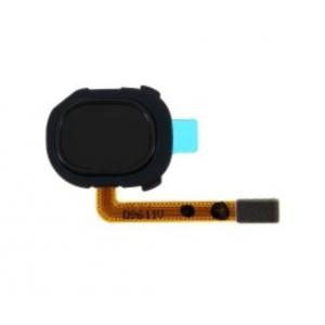 Lanksčioji jungtis Samsung A205 A20 2019 su juodu pirštų atspaudų jutikliu (fingerprint) ORG
