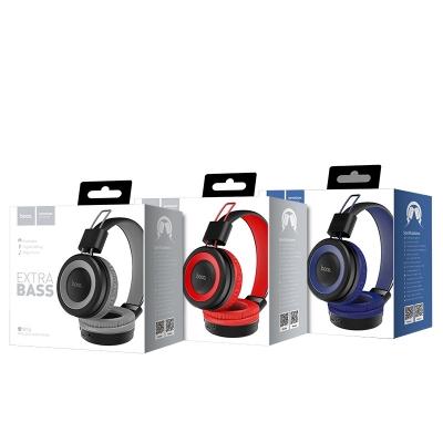 Bluetooth ausinės HOCO W16 Cool motion raudonos