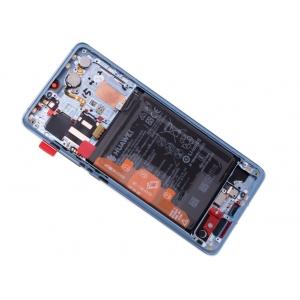 Ekranas Huawei P30 PRO su lietimui jautriu stikliuku su rėmeliu ir baterija Breathing Crystal originalus (service pack)