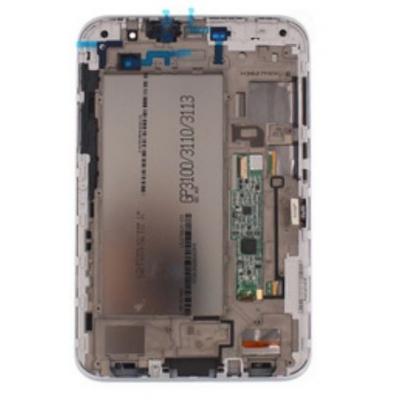 Ekranas Samsung P3100 Tab 2 7.0  su lietimui jautriu stikliuku juodas originalus (used Grade B)