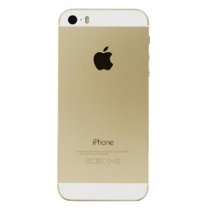 Galinis dangtelis iPhone 5S auksinis originalus (used Grade B)