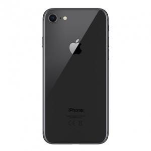 Galinis dangtelis iPhone 8 pilkas (space grey) (bigger hole for camera) HQ