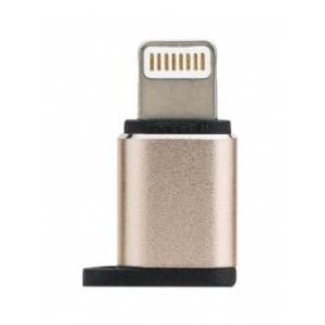 Adapteris iš Apple Lightning į MicroUSB aliuminis