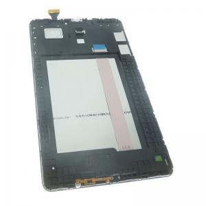 Ekranas Samsung T560 / T561 Tab E 9.6  su lietimui jautriu stikliuku juodas originalus (used Grade C)