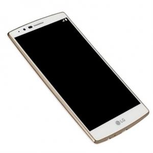 Ekranas LG H815 G4 su lietimui jautriu stikliuku auksinis (baltas) originalus (used grade B)