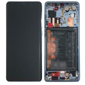 Ekranas Huawei P30 PRO su lietimui jautriu stikliuku ir rėmeliu Breathing Crystal originalus (used Grade B)