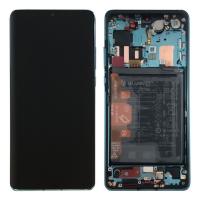 Ekranas Huawei P30 Pro su lietimui jautriu stikliuku su rėmeliu Aurora originalus (used Grade B)