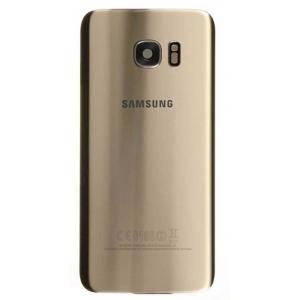Galinis dangtelis Samsung G935F S7 Edge auksinis Platinum originalus (used Grade C)