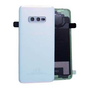 Galinis dangtelis Samsung G970 S10e baltas (Prism White) originalus (used Grade B)