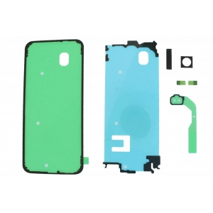Lipdukų komplektas galiniam dangteliui Samsung G955 S8+ originalus (service pack)