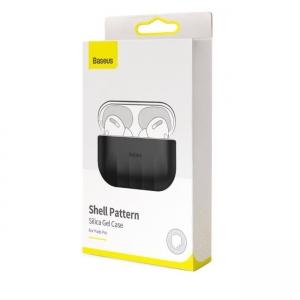 Dėklas Baseus Shell Silica Gel Airpods Pro pilkas