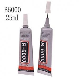 Universalūs klijai B6000 25ml (tinka telefonų rėmelių klijavimui)