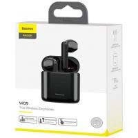 Belaidė laisvų rankų įranga Baseus TWS Encok W09 (Airpods) juoda