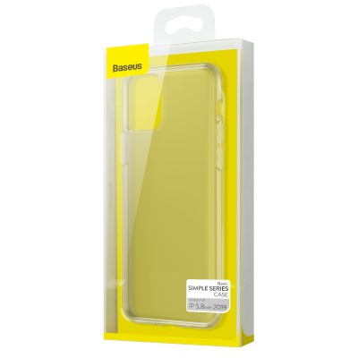 Dėklas  Baseus Safety Airbags with strong corners  Apple iPhone 11 Pro skaidrus