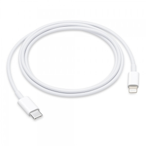 USB kabelis Apple  USB-C (Type-C) to Lightning Cable  (1M) (A1703) iPhone / iPad / iPod / Macbook / iMac / AirPods originalus (used Grade A) pakuotėje