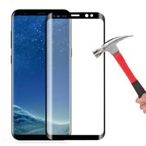 LCD apsauginis stikliukas  5D Full Glue  Samsung N970F Note 10 (without hole) lenktas be įpakavimo