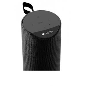 Bluetooth nešiojamas garsiakalbis CANYON CNS-CBTSP5 (MicroSD,AUX,BT V5.0,1200mAh) juodas