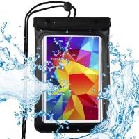 Dėklas Baseus universalus atsparus vandeniui Waterproof 7.2' geltonas