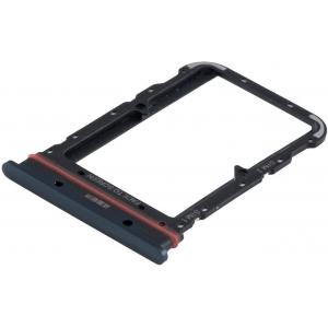 SIM kortelės laikiklis Xiaomi Mi Note 10 juodas ORG