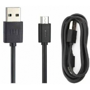 USB kabelis ORG Xiaomi microUSB juodas (0.8M)