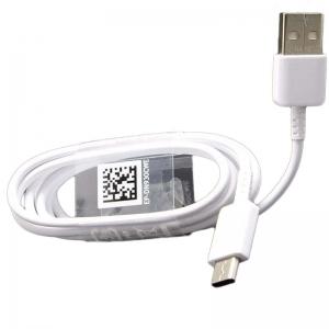 USB kabelis originalus Samsung G950 S8 / G960 S9 type-C (EP-DN930CWE) baltas (1,2M)