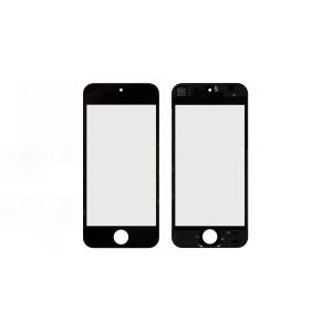 LCD stikliukas Apple iPhone 5S / SE su rėmeliu ir OCA juodas ORG (v2B)